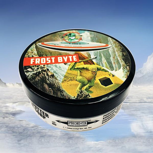 Frost Byte Artisan Shave Soap | A Cooling, Mentholated Classic! - Phoenix Artisan Accoutrements