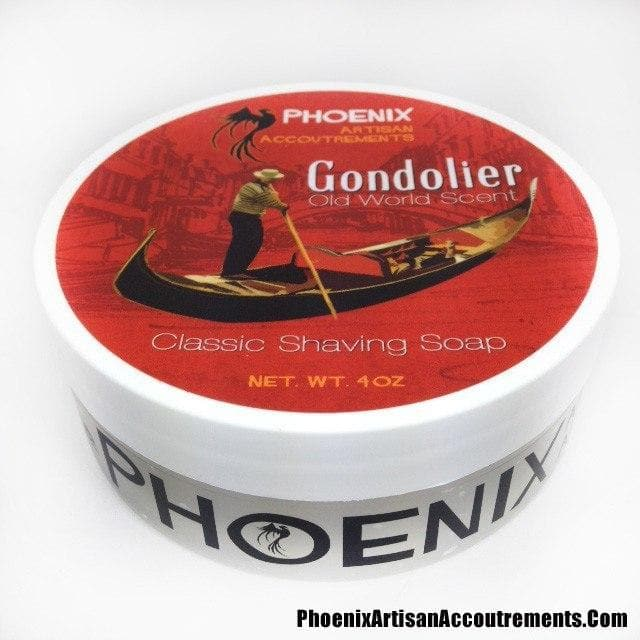 Gondolier Classic Artisan Shaving Soap - A Phoenix Shaving Classic! - Phoenix Artisan Accoutrements