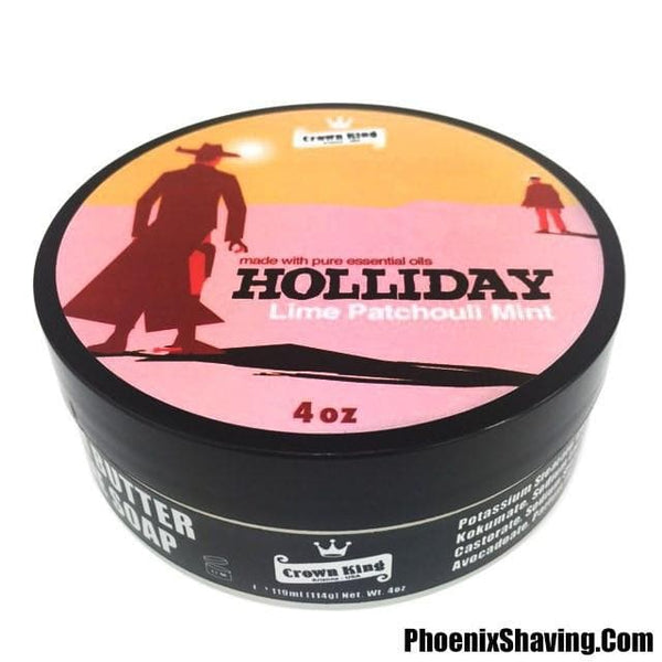 Shaving Soap - Holliday Crown King Kokum Butter Shave Saop - 4 OZ - Made With Essential Oils
