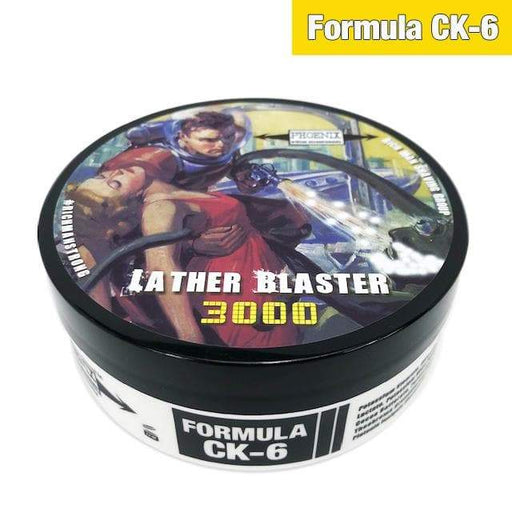 Lather Blaster 3000 Artisan Shave Soap - Ultra Premium Formula CK-6 Official Rich Man Shaving Group Scent - Phoenix Artisan Accoutrements