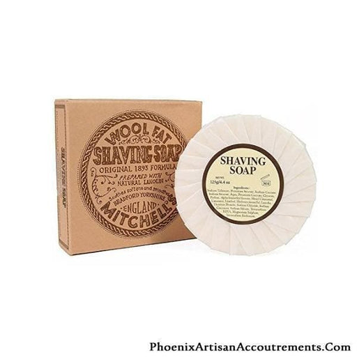 Mitchell's Wool Fat Shaving Soap Refill - Phoenix Artisan Accoutrements