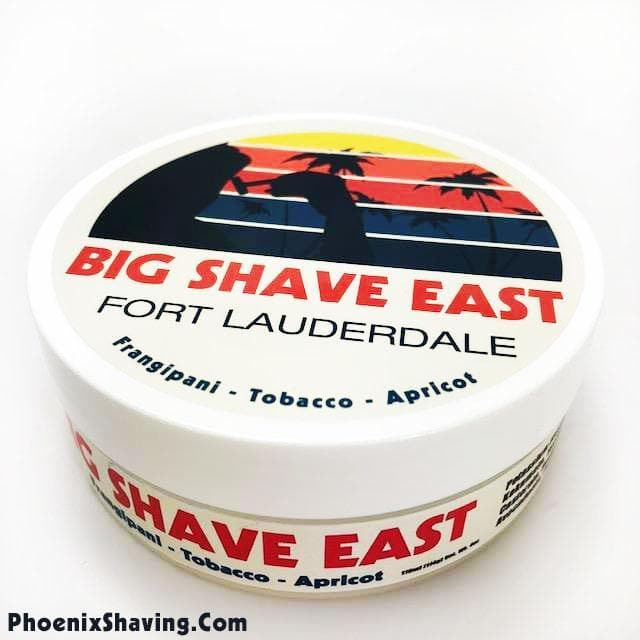 Official Big Shave East Artisan Shave Soap - Frangipani, Tobacco & Apricot - Phoenix Artisan Accoutrements