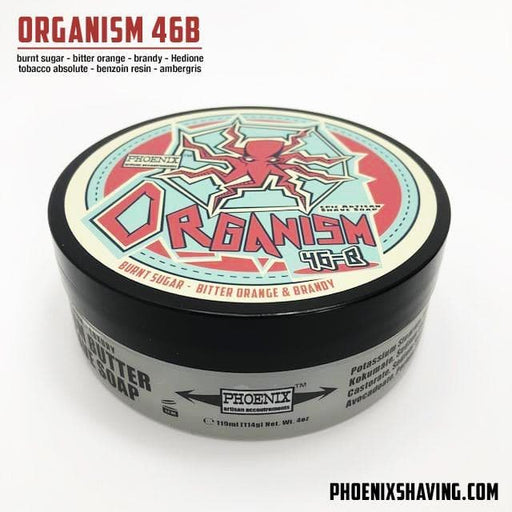 Organism 46b Artisan Shave Soap - Experience what EPIC Really is! - Phoenix Artisan Accoutrements