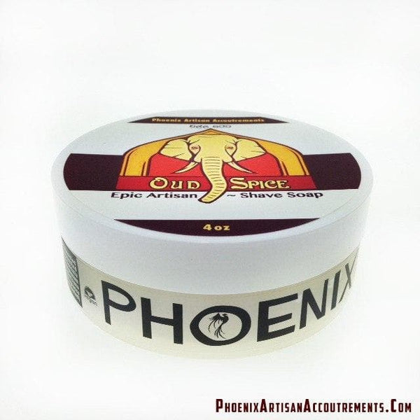 "Oud Spice Epic Artisan Shave Soap 3.0 - ""A True Instant Classic"" - Phoenix Artisan Accoutrements - 1"