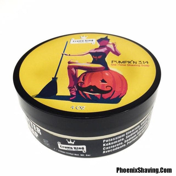 Shaving Soap - Pumpk'n 3.14 Old Time Shaving Soap - A Seasonal Classic - Crown King