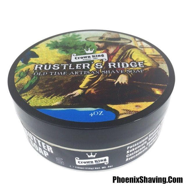 Shaving Soap - Rustler's Ridge Crown King Kokum Butter Shave Soap - 4 Oz