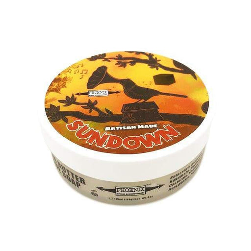 Sun Down Artisan Shave Soap - 4 Oz - Phoenix Artisan Accoutrements