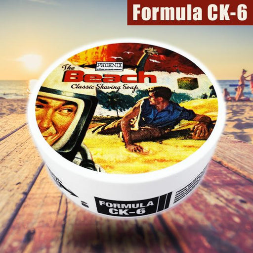 The Beach Artisan Shaving Soap - Ultra Premium CK-6 Formula | 5 Oz | The Original - Phoenix Artisan Accoutrements
