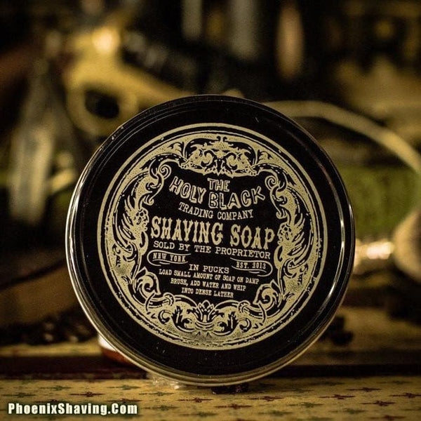 The Holy Black Artisan Line Shaving Soap - Phoenix Artisan Accoutrements