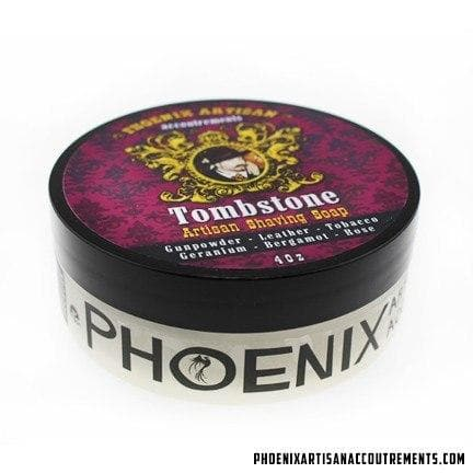 Tombstone Artisan Shaving Soap - The Original Epic Wild West Scent! - Phoenix Artisan Accoutrements