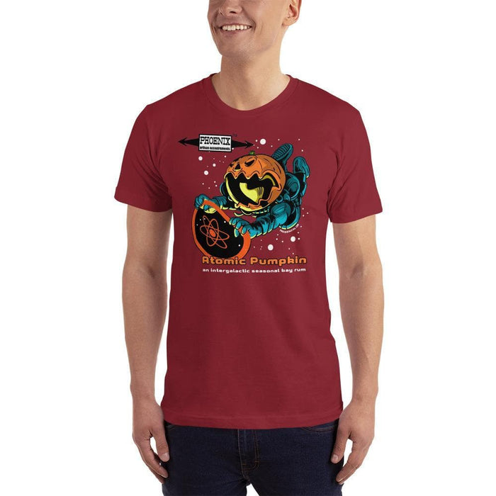 Atomic Pumpkin Short-Sleeve T-Shirt - Made in the USA - Phoenix Artisan Accoutrements
