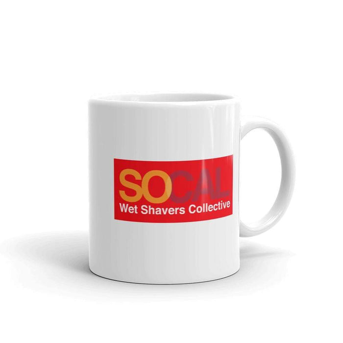 SoCal Wet Shavers Collective Coffee Mug - Phoenix Artisan Accoutrements
