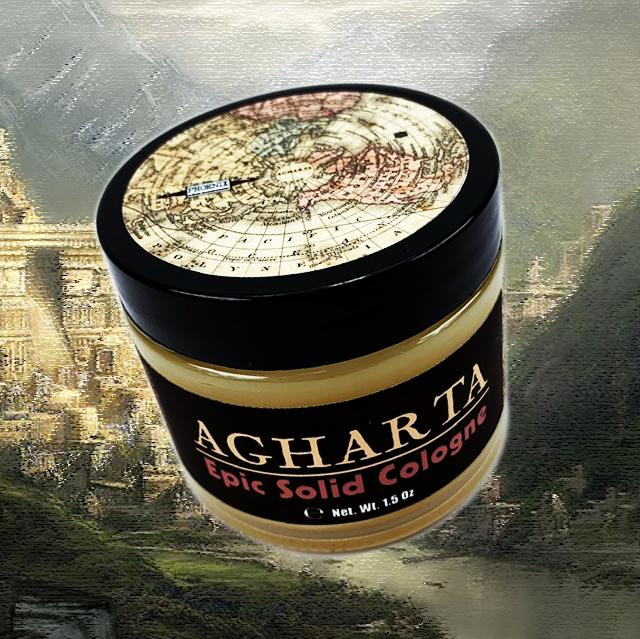 AGHARTA Solid Cologne | Contains Prickly Pear Oil | Inner Earth Barbershop - Phoenix Artisan Accoutrements