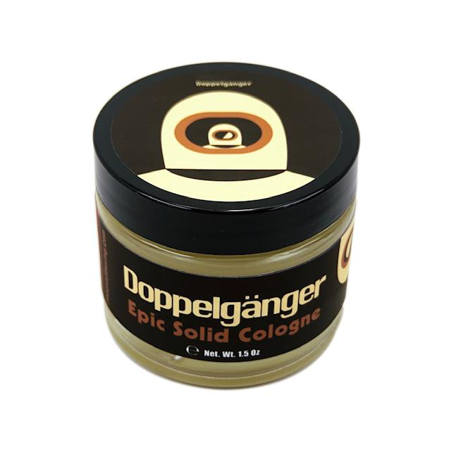 Doppelgänger Black Label Solid Cologne | Contains Prickly Pear Oil - Phoenix Artisan Accoutrements