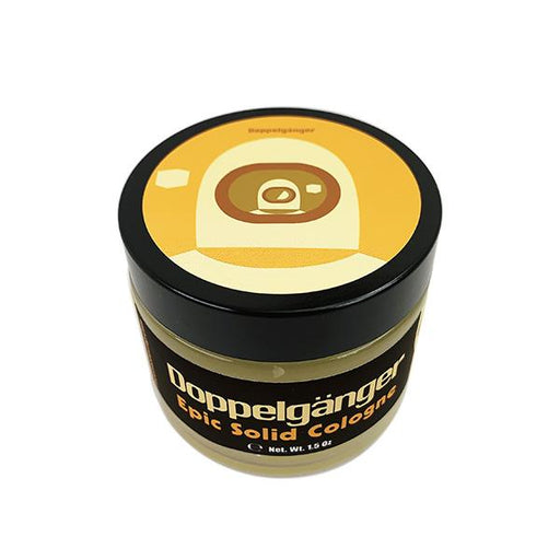 Doppelgänger Gold Label Solid Cologne | Contains Prickly Pear Oil - Phoenix Artisan Accoutrements