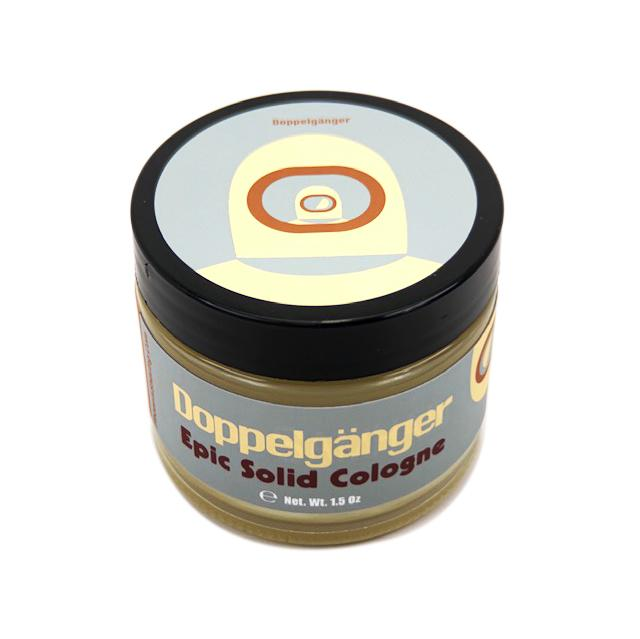 Doppelgänger Grey Label Solid Cologne | Contains Prickly Pear Oil - Phoenix Artisan Accoutrements