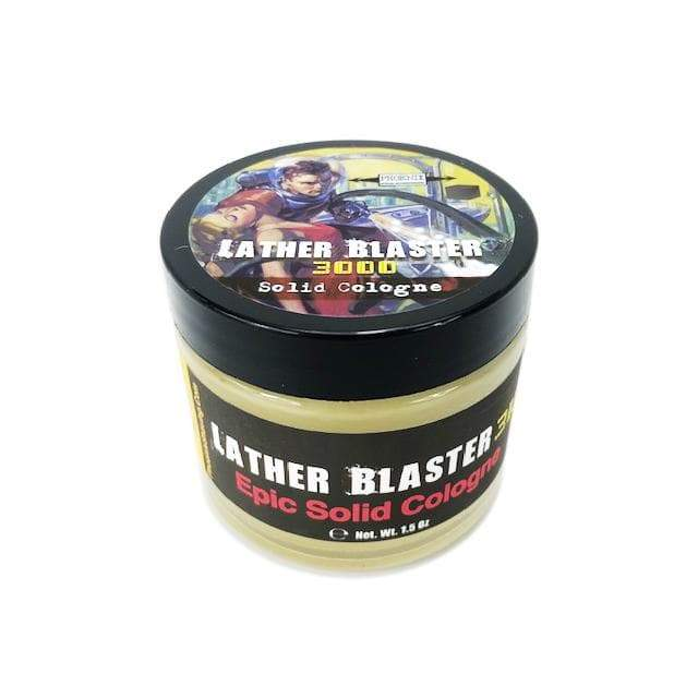 Lather Blaster 3000 Epic Solid Cologne | Contains Prickly Pear Oil | #RichManStrong - Phoenix Artisan Accoutrements