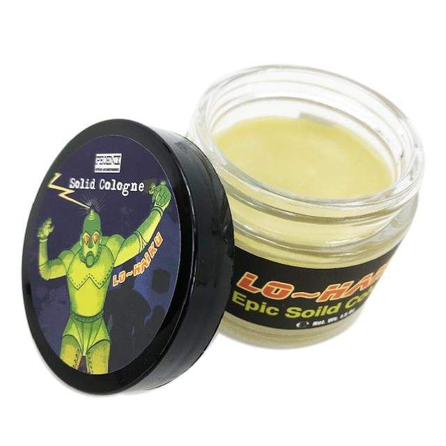 Lo~Haiku Epic Solid Cologne | Contains Prickly Pear Oil | Homage to Hai Karate - Phoenix Artisan Accoutrements