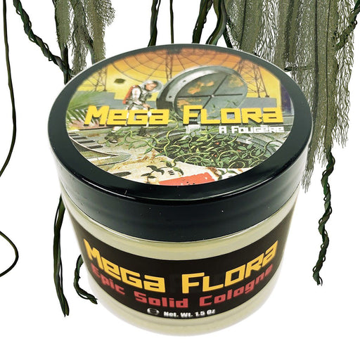 Mega Flora Solid Cologne | Contains Prickly Pear Oil | Green, Serene & Smooth - Phoenix Artisan Accoutrements