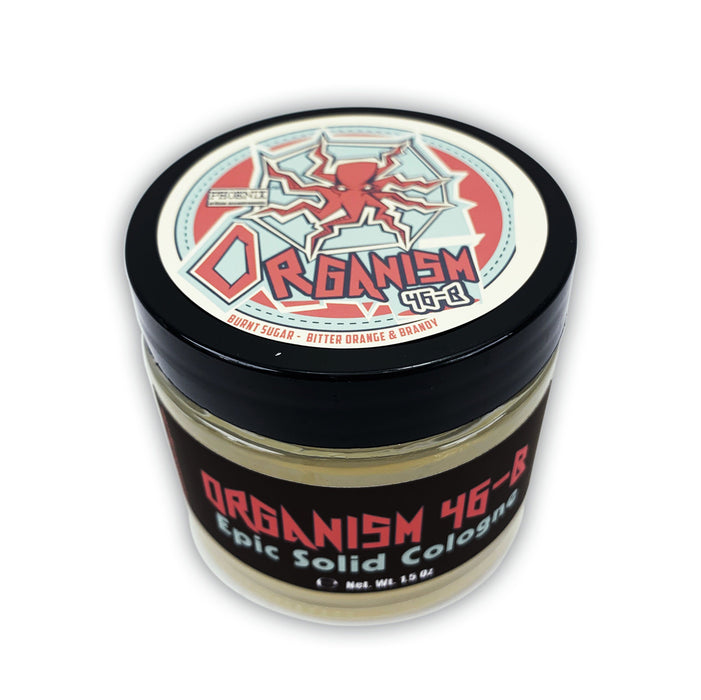 Organism 46b Solid Cologne | Contains Prickly Pear Oil | A Most Epic Gourmand - Phoenix Artisan Accoutrements