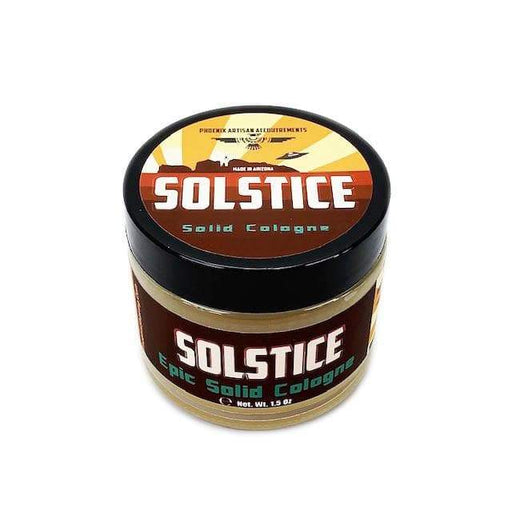 Solstice Solid Cologne | Contains Prickly Pear Oil | The Soul of the Desert - Phoenix Artisan Accoutrements