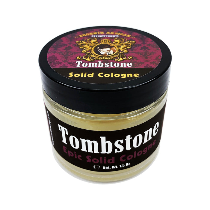 Tombstone Solid Cologne | Contains Prickly Pear Oil | The Scent Of The Wild West - Phoenix Artisan Accoutrements