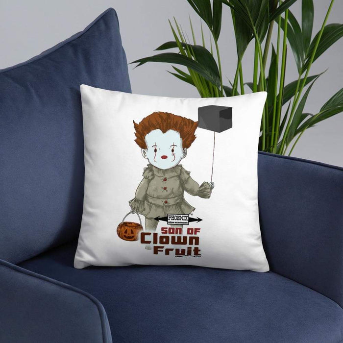 Son Of Clown Fruit EPIC Pillow | Perfect For The Man Cave! - Phoenix Artisan Accoutrements