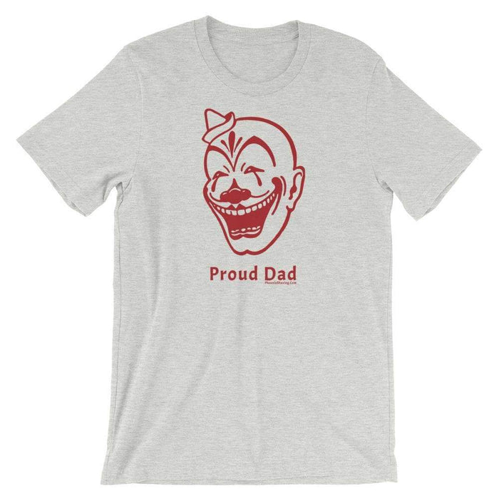 "Son Of Clown Fruit ""Proud Dad"" Short-Sleeve Unisex T-Shirt - Phoenix Artisan Accoutrements"
