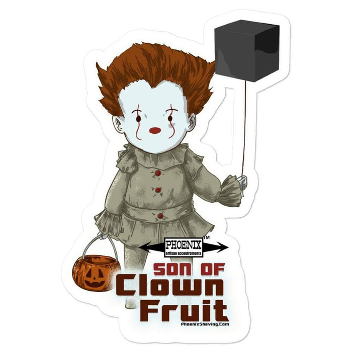 Son Of Clown Fruit Vinyl Bubble-Free Stickers | 3 Sizes to Choose - Phoenix Artisan Accoutrements