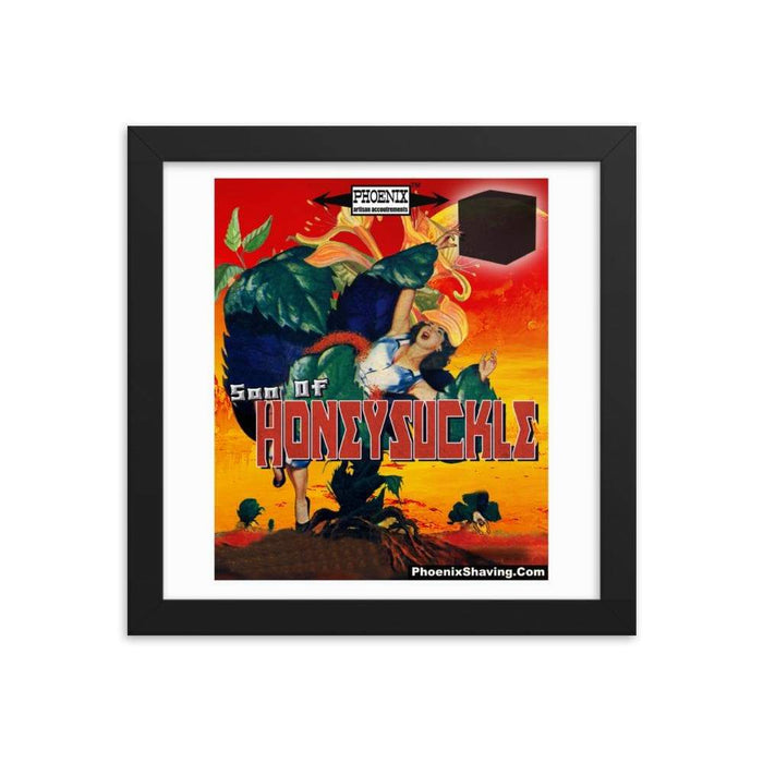 Son Of Honeysuckle Framed Print - Phoenix Artisan Accoutrements