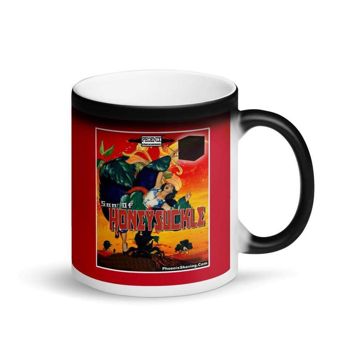 Son Of Honeysuckle Matte Black Magic Coffee Mug - Phoenix Artisan Accoutrements