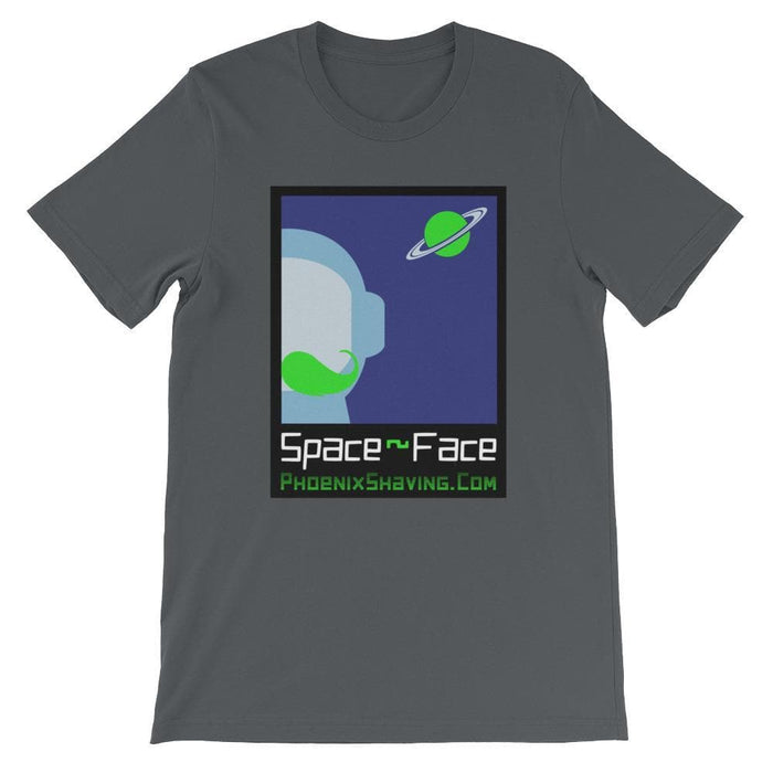 Space-Face Unisex short sleeve t-shirt - Phoenix Artisan Accoutrements