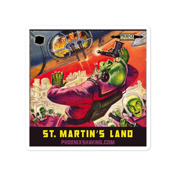 St. Martin's Land Vinyl Bubble-Free Stickers | Available in 3 Sizes! - Phoenix Artisan Accoutrements