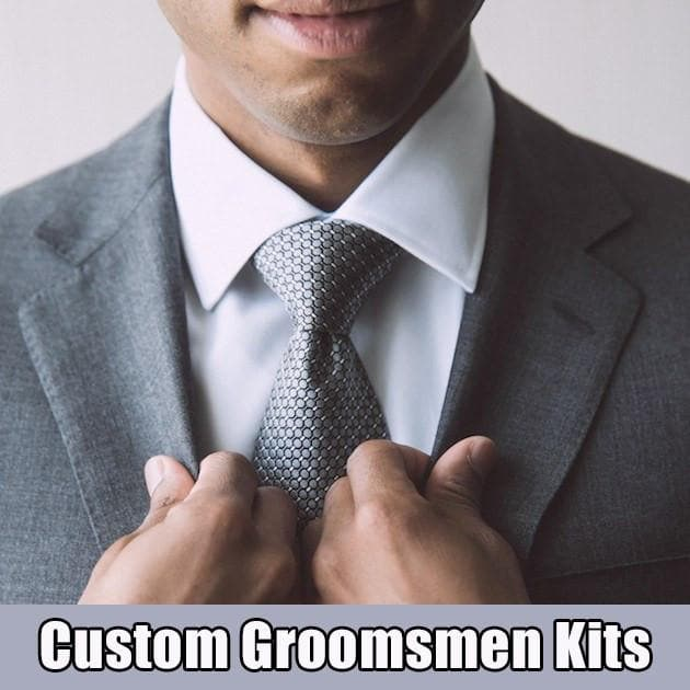 Starter Kits - Custom Groomsmen Kits - With Custom Soap Label