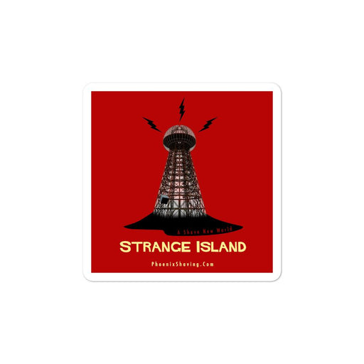 Strange Island Vinyl Bubble-Free Stickers | Available In 3 Sizes - Phoenix Artisan Accoutrements