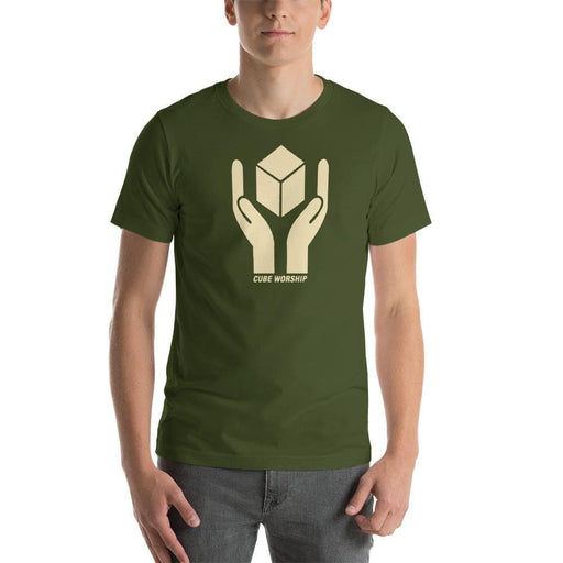 CUBE Worship Short-Sleeve Unisex T-Shirt - Phoenix Artisan Accoutrements