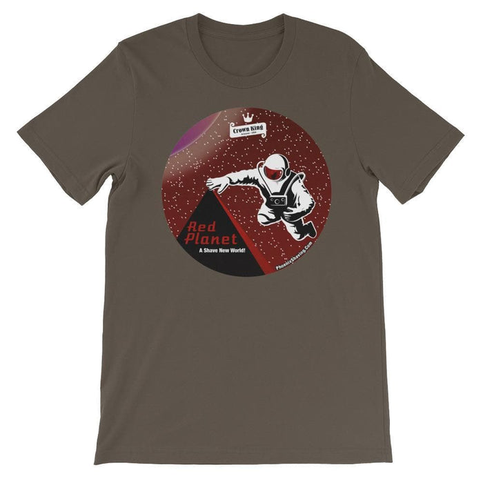 Red Planet Unisex short sleeve t-shirt - Phoenix Artisan Accoutrements