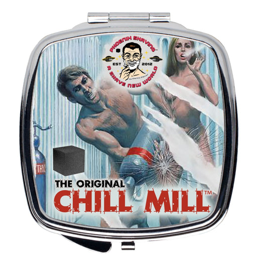 The Chill Mill Compact Travel Mirror - Phoenix Artisan Accoutrements