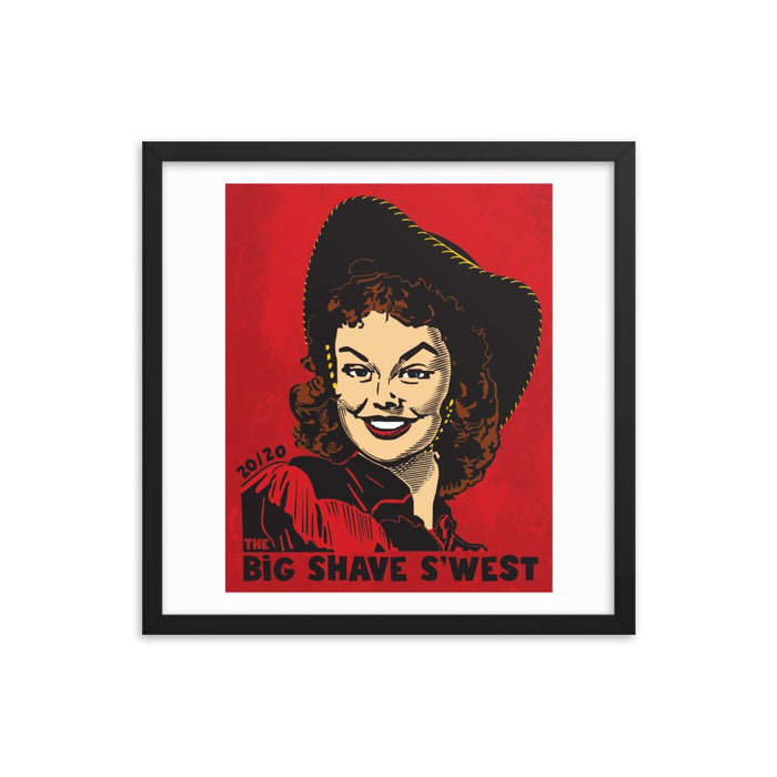 The Official Big Shave S'west 20/20 Framed Print - Phoenix Artisan Accoutrements