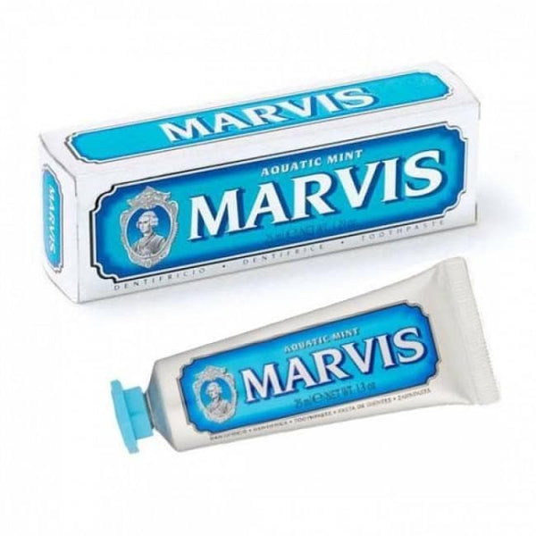 Toothpaste - Marvis Aquatic Mint Toothpaste - 1.3 Oz