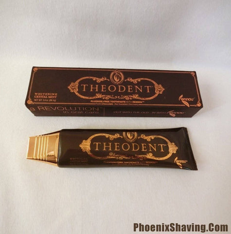 THEODENT CLASSIC (Whitening Crystal Mint) FLUORIDE-FREE TOOTHPASTE (3.4oz) 96.4g - Phoenix Artisan Accoutrements - 2