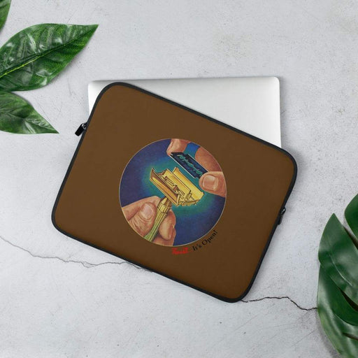 Traditional Shaving Laptop Sleeve | Available in 2 Sizes - Phoenix Artisan Accoutrements