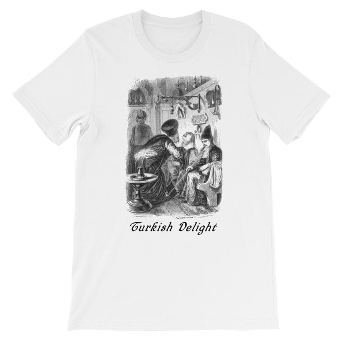Turkish Delight Unisex short sleeve t-shirt - Phoenix Artisan Accoutrements