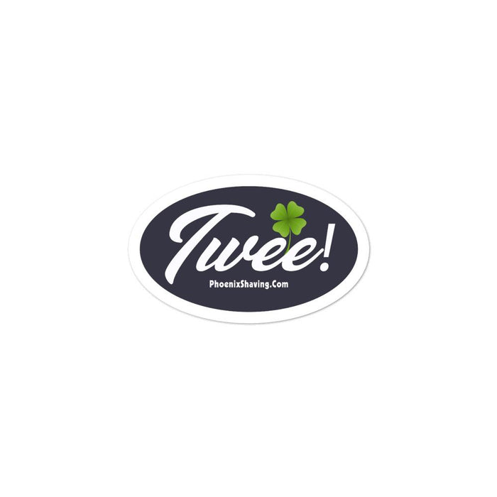 Twee! Bubble-free Vinyl Stickers | Available in 3 Sizes - Phoenix Artisan Accoutrements