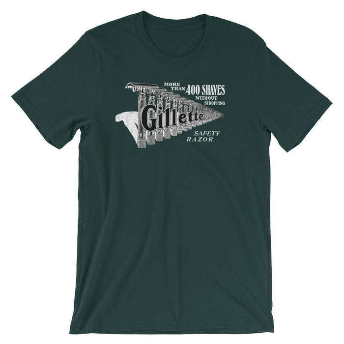 Vintage Safety Razor Advert Short-Sleeve Unisex T-Shirt - Phoenix Artisan Accoutrements