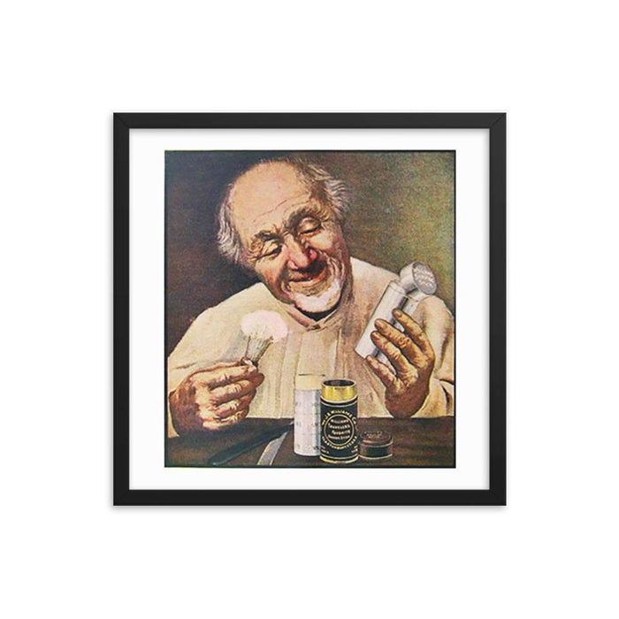 Vintage Shave Stick Advert Framed Print - Phoenix Artisan Accoutrements