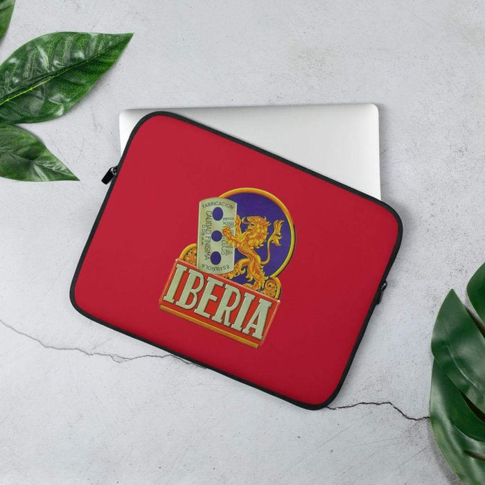 Vintage Shaving Icon Laptop Sleeve | Available in 2 Sizes - Phoenix Artisan Accoutrements