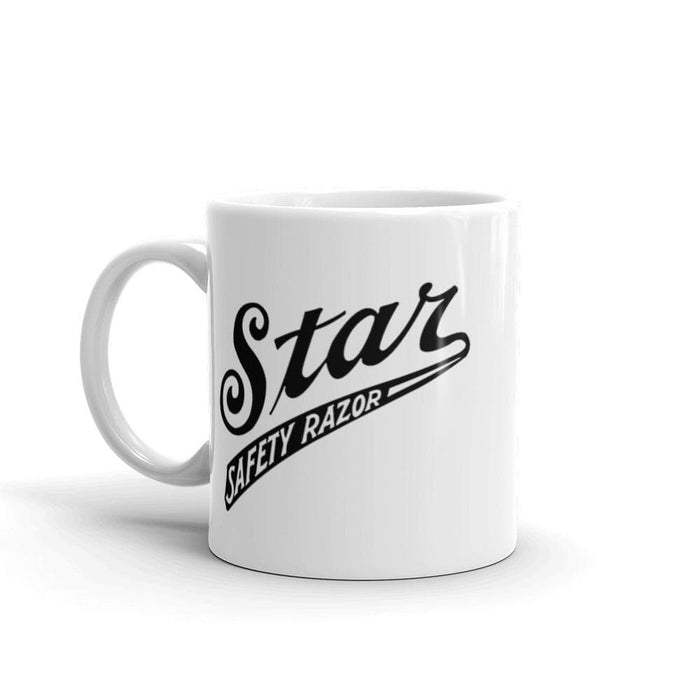 Vintage Star Safety Razor Coffee Mug | Available in 2 Sizes! - Phoenix Artisan Accoutrements