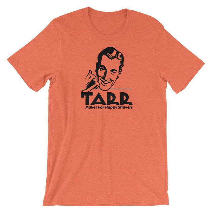 Vintage TARR Aftershave Ad Short-Sleeve Unisex T-Shirt - Phoenix Artisan Accoutrements