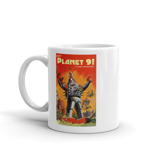 Visit Planet 9 Coffee Mug - Phoenix Artisan Accoutrements